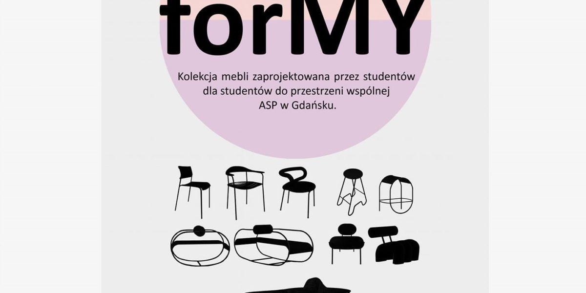 Kolekcja forMY – meble studentów ASP Gdańsk